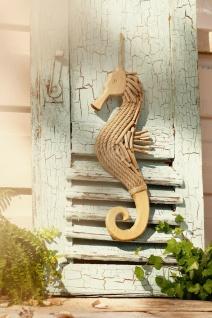 """Hänger ?Seepferdchen"""" aus Holz Seepferd Deko Wand Tür Fenster Mobile Verzierung"""