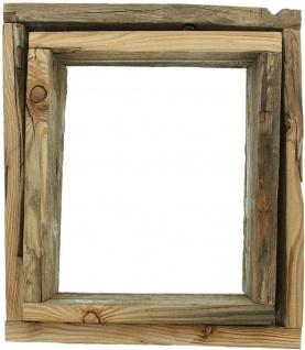 2 Wand Regale aus recyceltem Paletten Holz, Board Rahmen Würfel Shabby Vintage - Vorschau 3