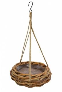 pflanzer 39 rustikal weave gross aus rattan blumen pflanz ampel h nge korb topf kaufen bei. Black Bedroom Furniture Sets. Home Design Ideas