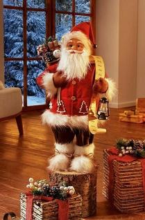 """große Weihnachts Mann Deko Figur """" Geschenke"""", 65 cm hoch, Nikolaus Santa Claus"""