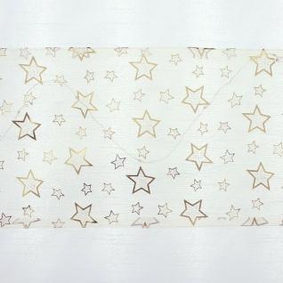 Fenster Vorhang mit LED Beleuchtung, weiß, 140x50 cm, Bistro Gardine Leucht Deko