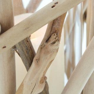 """Windlicht ?Maritim"""" Holz natur Glas Garten Deko Kerzen Teelicht Halter Ständer - Vorschau 4"""