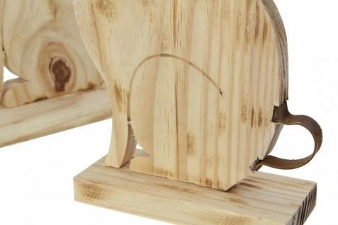 "Hasenpaar ?Hoppel"" aus Holz Hase Deko Figur Hasenfigur Frühling Ostern Osterdeko - Vorschau 4"