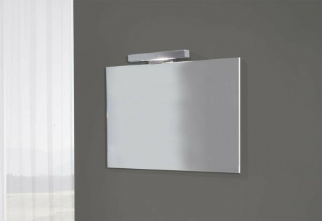 ital. Design Bad Spiegel VENUS 100x47, 5 inkl. LED Beleuchtung Lampe chrom
