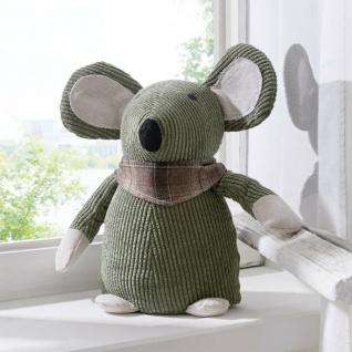 "Türstopper "" Maus"" 1kg Tür Fenster Wind Stopper Puffer Fest Steller Plüsch Tier"