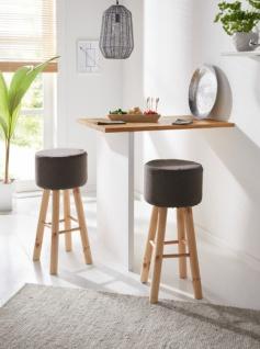 Bar Hocker \'Chic? aus Holz Design Sitz Küchen Tresen Stuhl ...