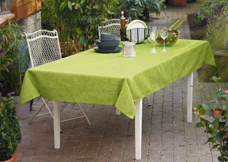 """Tafel Decke """" Melange"""" in pistazie 135x240 cm, grün, Tisch Tuch, Lotus Effekt"""