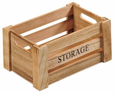 """KESPER AUFBEWAHRUNGSBOX """" Storage"""" Gr S aus FSC PAULOWNIA HOLZ ALLZWECK KISTE BOX"""