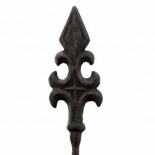 """2 Metall Garten Stecker """" Französische Lilie"""", 110 cm, Beet Sticker Garten Deko - Vorschau 3"""