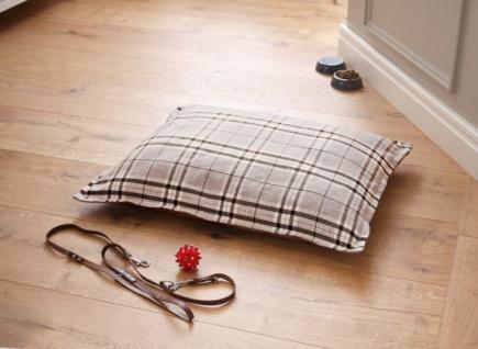 Hunde Kissen 'Britisch Style? Tier Bett Sofa Liegefläche Decke Katze Schlafplatz