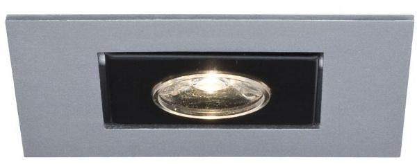 PAULMANN 99465 3er SET EINBAULEUCHTEN 3x1W LED CHROM MATT schwenkbar WARMWEIß