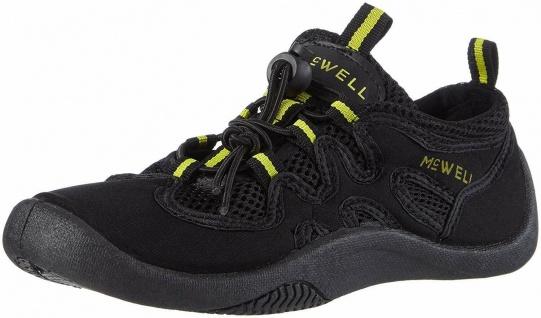 McWell Bade Schuhe schwarz / gelb, Gr. 37, Wasser Aqua Schwimm Sport Sneaker