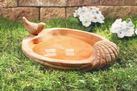 Vogelbad vogeltr nke online bestellen bei yatego for Gartendeko terracotta