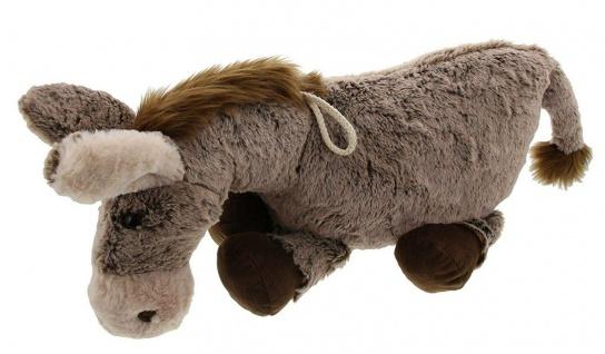 """Plüsch Esel """" Pablo"""" 37 cm hoch, grau / braun, Kuschel Spiel Stoff Tier Figur - Vorschau 4"""