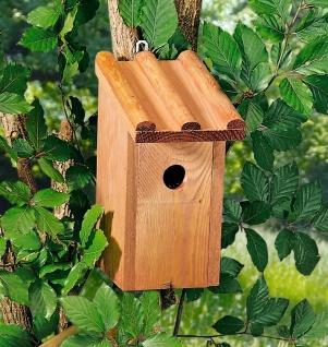 Holz Vogel Häuschen mit Tür, Nist Brut Kasten Platz Meisen Haus Insekten Hotel