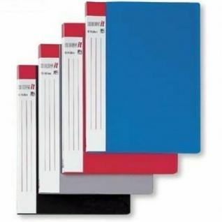 """12x HETZEL """" Show It"""" Sicht Buch blau, mit 10 A4 Sicht Hüllen, Prospekt Mappe"""