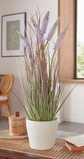 """Kunst Pflanze """" Lavendel"""" 60 cm hohe künstliche Deko Zier Blume, täuschend echt"""