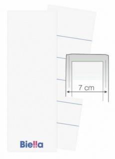 100 BIELLA 7cm ORDNER RÜCKENSCHILD 51x74 mm NEU ETIKETTEN BESCHRIFTUNG