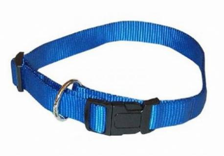 Hunter Nylon Hunde Halsband Vario Plus Blau 35 - 53 Cm Halsung - Vorschau