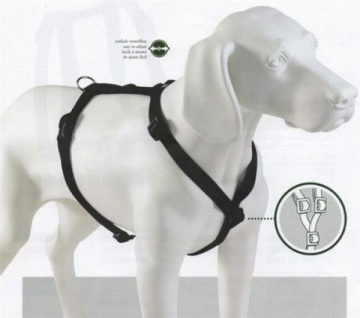 Hunter Nylon Hunde Geschirr Vario Ypsilon Gr. Xs Rosa Neu Brustgeschirr - Vorschau 2