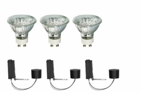 Paulmann 99755 2Easy LED Einbau Leuchten Basis Set 3x 1W GU10 tageslicht weiß