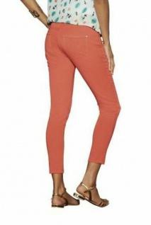 7/8 Knöchel Jeans apricot Gr. 36 Used Look Stretch Röhren Slim Hüft Hose rosa
