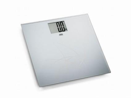 digitalte GLAS PERSONENWAAGE 150kg BADEZIMMER DIGITAL PERSONEN WAAGE 2.Wahl #s
