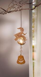4er LED Hänger 'Hexenflug? aus Metall Stimmungslicht Hängelampe Leuchte Lampe