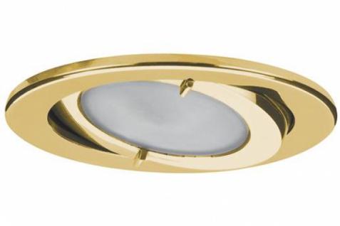PAULMANN MÖBELEINBAULEUCHTE HALOGEN SET 3x20W G4 IP44 ALU/GLAS GOLD