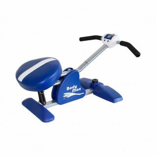 BodyMax Fitness Liegestütze Heim Trainer mit Vibration Rücken Schultern Nacken