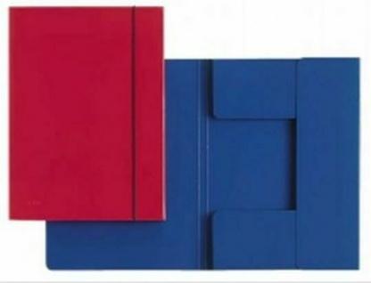 8 Stück Gummizug Sammel Mappe A4, bis 200 Blatt, Dokumenten Juris Einschlag