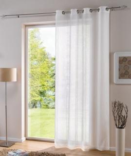 Dekoschal Mit ösen Weiß 140 X 250 Neu Deko Schal Gardine Vorhang