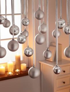 Weihnachtsdeko Für Baum.70er Christbaumkugel Silber Kugel Weihnachten Baum Tanne Schmuck Weihnachtsdeko