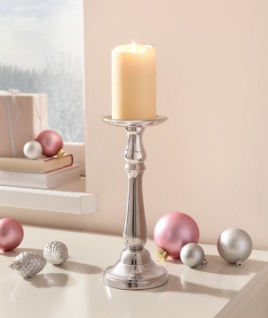 Kerzen Ständer 'Maison? Teelicht Halter Metall Windlicht Weihnachten