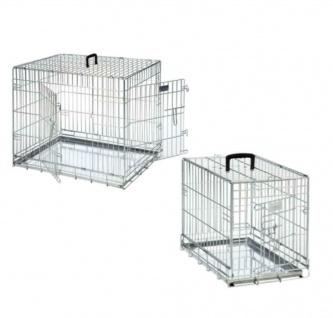 Karlie Flamingo Käfig für Welpen & Hunde Auto Transport Zimmer Box Gr. S 61cm