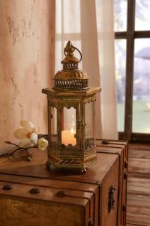 Metall Laterne 'Orient? Windlicht Deko Kerzen Halter Ständer Garten - Vorschau 1