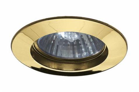 PAULMANN EINBAULEUCHTE HALOGEN SET 3x50W 230V GU10 IP44 ALU/ZINK GOLD