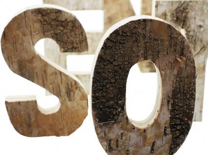 """Schriftzug ?Ostern"""" aus Holz 6 Deko Buchstaben Flur Haus Zimmer Tisch Dekoration - Vorschau 5"""