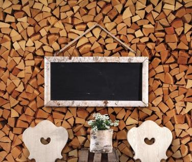"Kreide Tafel "" Birke"" mit Holz Rahmen, Wand Deko Schild Memo Notiz Schreib Board"