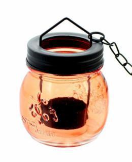 Windlicht-hÄnger 'coloured Glasses' Laterne Teelichthalter Glas Ethno Look Neu - Vorschau 4