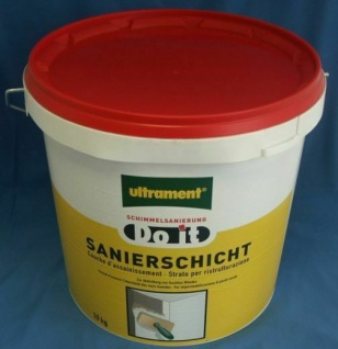 ULTRAMENT DO IT SANIERSCHICHT gegen SCHIMMEL 10kg NEU 0, 995€/1kg