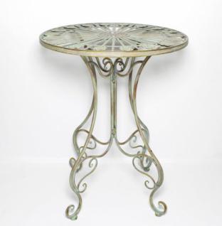 metall tisch 39 pfauenauge 39 gartentisch antik gartenm bel. Black Bedroom Furniture Sets. Home Design Ideas