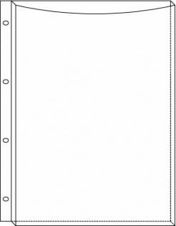 25x BIELLA SICHTHÜLLE 300my für Kataloge Prospekte Broschüren PROSPEKTHÜLLE