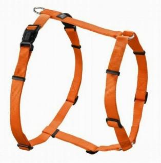 "Hunter Nylon Hunde Geschirr "" Vario Rapid"" orange, Gr. XXL 80-125 cm Brust Umfang"