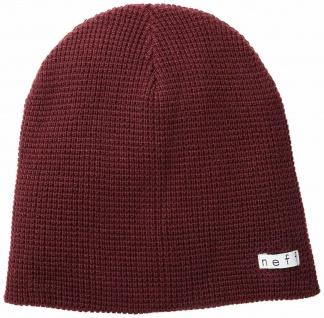 NEFF Quill Beanie, Mütze, weinrot rot, Universal Größe, Unisex, Strickmütze