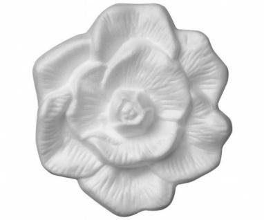 """4x DECOSA 3D WANDTATTOO """" Rose"""" WANDDEKORATION BLUME WANDSTICKER ZIERPROFIL"""