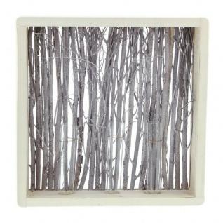 """Holz Deko ?Zweige"""" mit Vasen aus Holz Objekt Tisch Dekoration Fenster Glas Vase"""