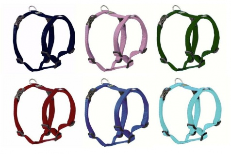 "Hunter Nylon Hunde Geschirr "" Vario Ypsilon"", 10 Farben + 6 Größen, Brustgeschirr"