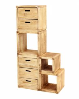 kommode 39 geflammt 39 klein holzkommode holzschrank schrank. Black Bedroom Furniture Sets. Home Design Ideas