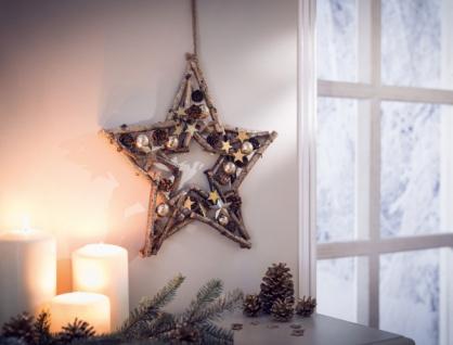 Stern 'Sternenglitzer? Deko Hänger Weihnachten Weihnachtsstern Weihnachtsdeko
